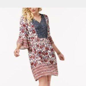Boho Dress So Adorable Style & Co XLP